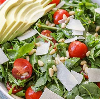 Lisas Pizza Wakefield new arugula salad Gallery